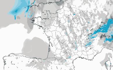 Prévisions de précipitation et de couverture nuageuse pour la France
