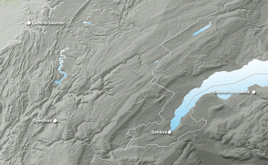 Cumul neige total 1 à 10 jours Jura