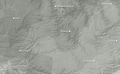 Cumul neige total 1 à 10 jours Massif central