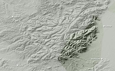 Cumul neige total 1 à 10 jours Vosges