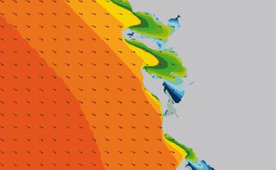 Prévisions de houle HD 96h Charente Maritime WAM 1km