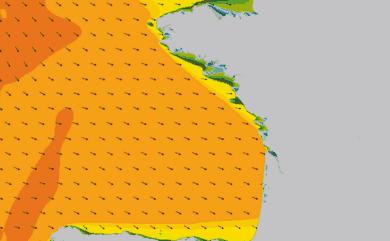 Prévisions Houle côte Golfe de Gascogne prévisions HD WAM 1km