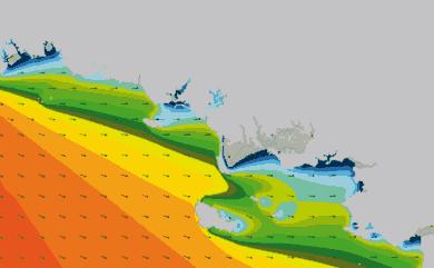 Prévisions de houle HD 96h Morbihan, Loire Atlantique Nord WAM 1km