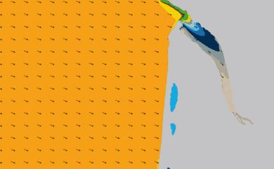 Prévisions Houle côte Nord Gironde prévisions HD WAM 1km