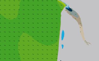 Prévisions de houle HD 96h Nord Gironde WAM 1km