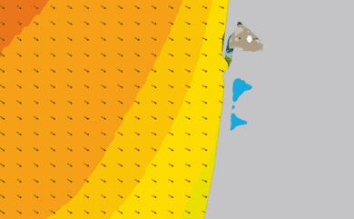 Prévisions de houle HD 96h Sud Gironde, Nord Landes WAM 1km