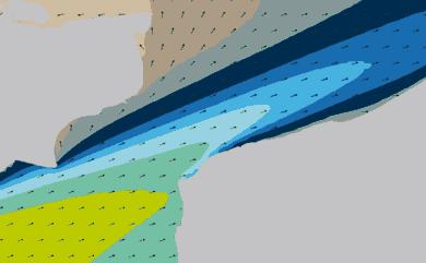Prévisions Houle Pas-de-Calais, Cap gris Nez, modèle HD WAM 1km