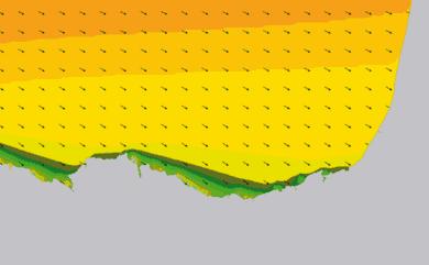 Prévisions houle côte Pays Basque, Sud Landes prévisions HD WAM 1km