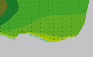 Prévisions de houle HD 96h Pays Basque, Sud Landes WAM 1km