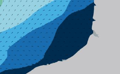Prévisions de houle HD 96h Seine Maritime, Somme WAM 1km