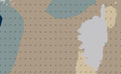 Prévisions Houle Corse Méditerranée prévisions HD WAM 5km