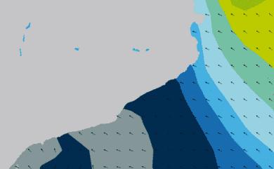 Prévisions de houle HD 96h Costa Brava, Costa Dorada WAM 5km