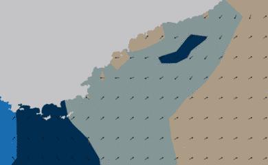 Prévisions de houle HD 96h Côte d'Azur WAM 5km