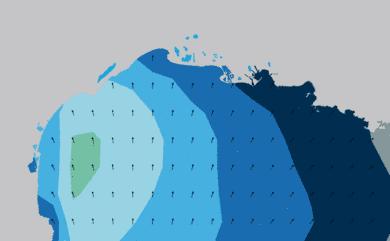 Prévisions Houle Golfe du Lion prévisions HD WAM 5km