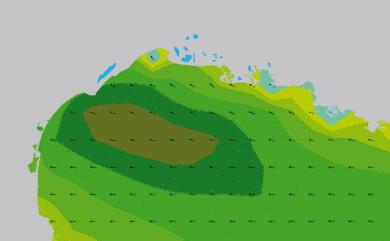 Prévisions de houle HD 96h Golfe du Lion WAM 5km