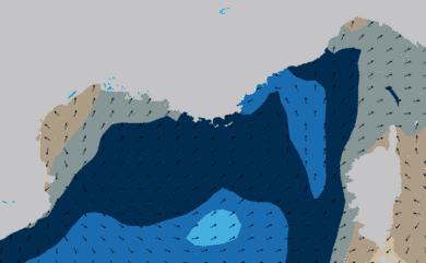 Prévisions Houle Mer Méditerranée côte française prévisions HD WAM 5km