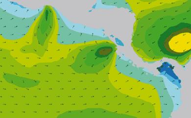 Prévisions de houle 11 à 16 jours Amérique Centrale, Pacifique WAM 54km