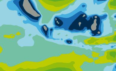 Prévisions de houle 1 à 10 jours Indonésie WAM 54km