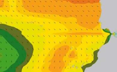 Prévisions de houle 1 à 10 jours Maroc, Portugal, Canaries WAM 54km