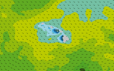 Prévisions de houle 1 à 8 jours Hawaï WW3 54km