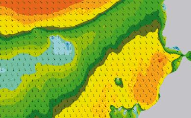 Prévisions de houle 1 à 8 jours Maroc, Portugal, Canaries WW3 54km