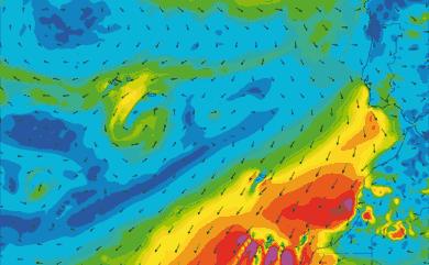 Prévisions de vent 1 à 8 jours Maroc, Portugal, Canaries GFS 27km