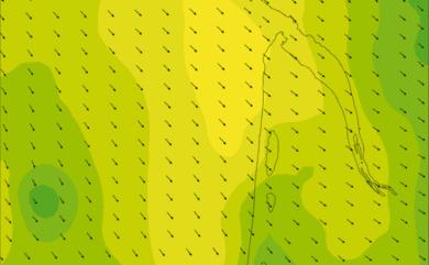 Prévisions de vent HD 96h Nord Gironde WRF 5km