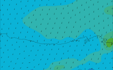 Prévisions de vent HD 96h Santander, Cantabrie WRF 5km